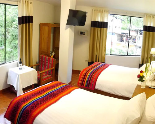 Hostel Wiracocha Inn type room twin